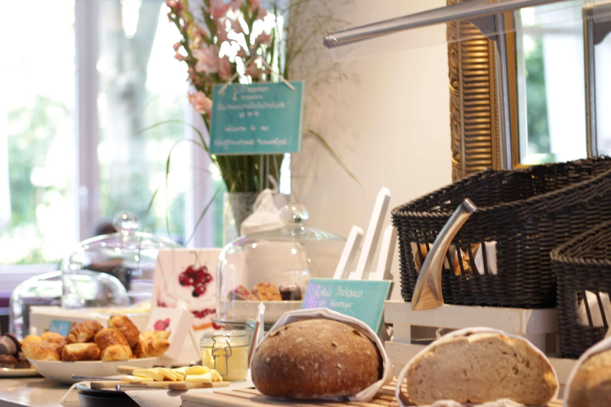 Frühstücksbuffet Indigo Hotel