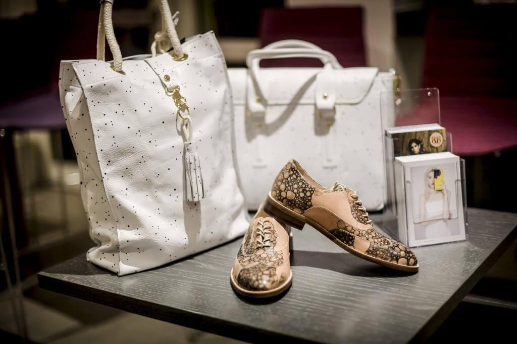Designer Tasche und Schuhe