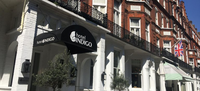 Hotel Indigo meets London