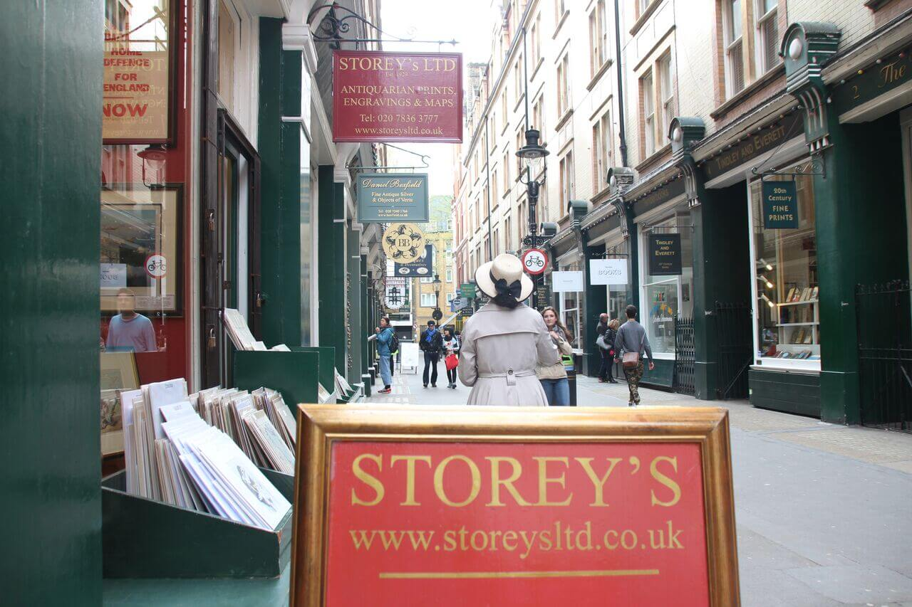 Storeys London Street Indigo