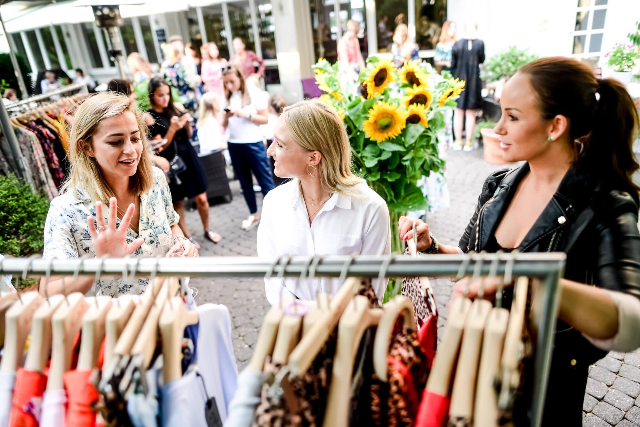 Bloggerinnen Kleidung Outdoor Sommerlich