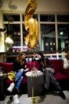 Ballon Zahl 5 Blogger event indigo couch damen