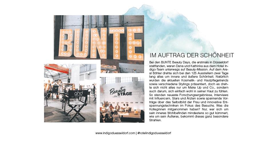 BUNTE Beauty Days Ausstellung Düsseldorf